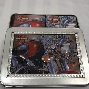 Harley-Davidson NEW Playing Card Set with Tin